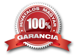 Hivatalos 100% magyar garancia